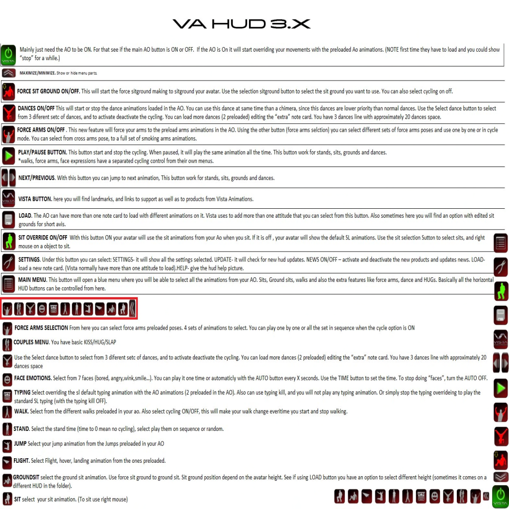 HUD_BUTTONS INSTRUCTIONS